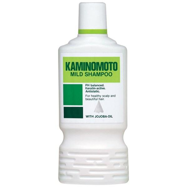 شامبو كامينوموتو بزيت الجوجوبا لشعر صحي وكثيف Kaminomoto Mild Shampoo