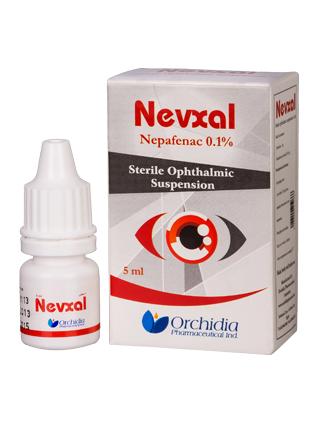 قطرة نفكسالقطرة نيفكسال Nevxal معقم للعين لعلاج التهابات العين قبل وبعد العمليات الجراحية للعين Nevxal معقم للعين لعلاج التهابات العين قبل وبعد العمليات الجراحية للعين