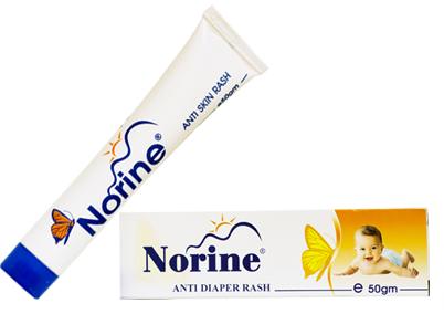 كريم نورين Norine مضاد للالتهابات والحكة والتسلخات الجلدية