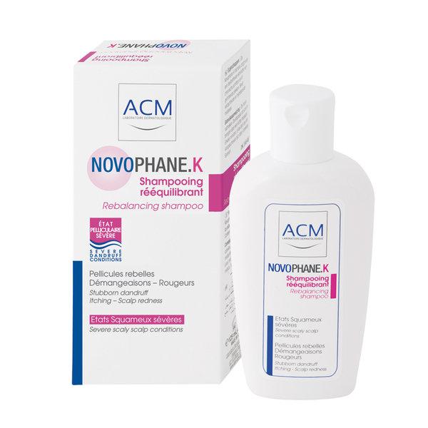 نوفوفان لوشن وشامبو لعلاج تساقط الشعر والقشرة وتنشيط فروة الرأس ACM Novophane
