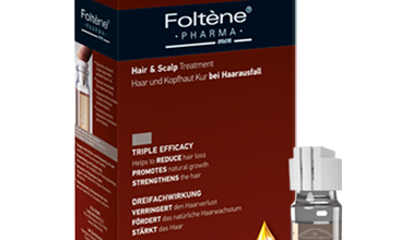 امبولات فولتين لعلاج تساقط الشعر وفروة الرأس وتعزيز نمو الشعر للرجال Foltene