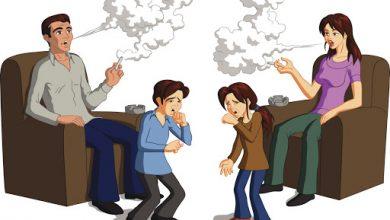 صورة التدخين السلبي واضراره ومدي خطورته علي الاطفال وخاصة حديثي الولادة والمرأة الحامل