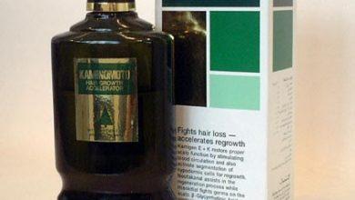 محلول كامينوموتو مسرع نمو الشعر لمنع تساقط الشعر والصلع الوراثي