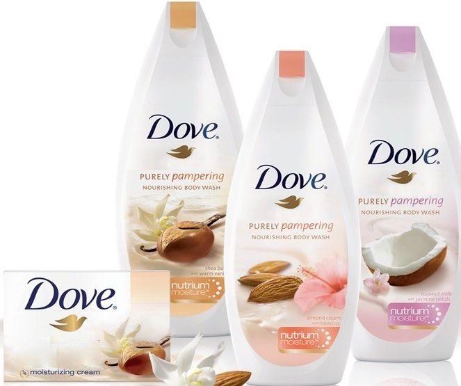 منتجات العناية الكاملة بالبشرة من دوف Dove لتغذية وترطيب الجسم