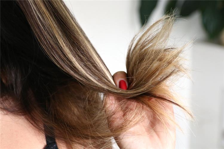 علاج الشعر المتقصف و افضل الوصفات المنزليه لعلاجه