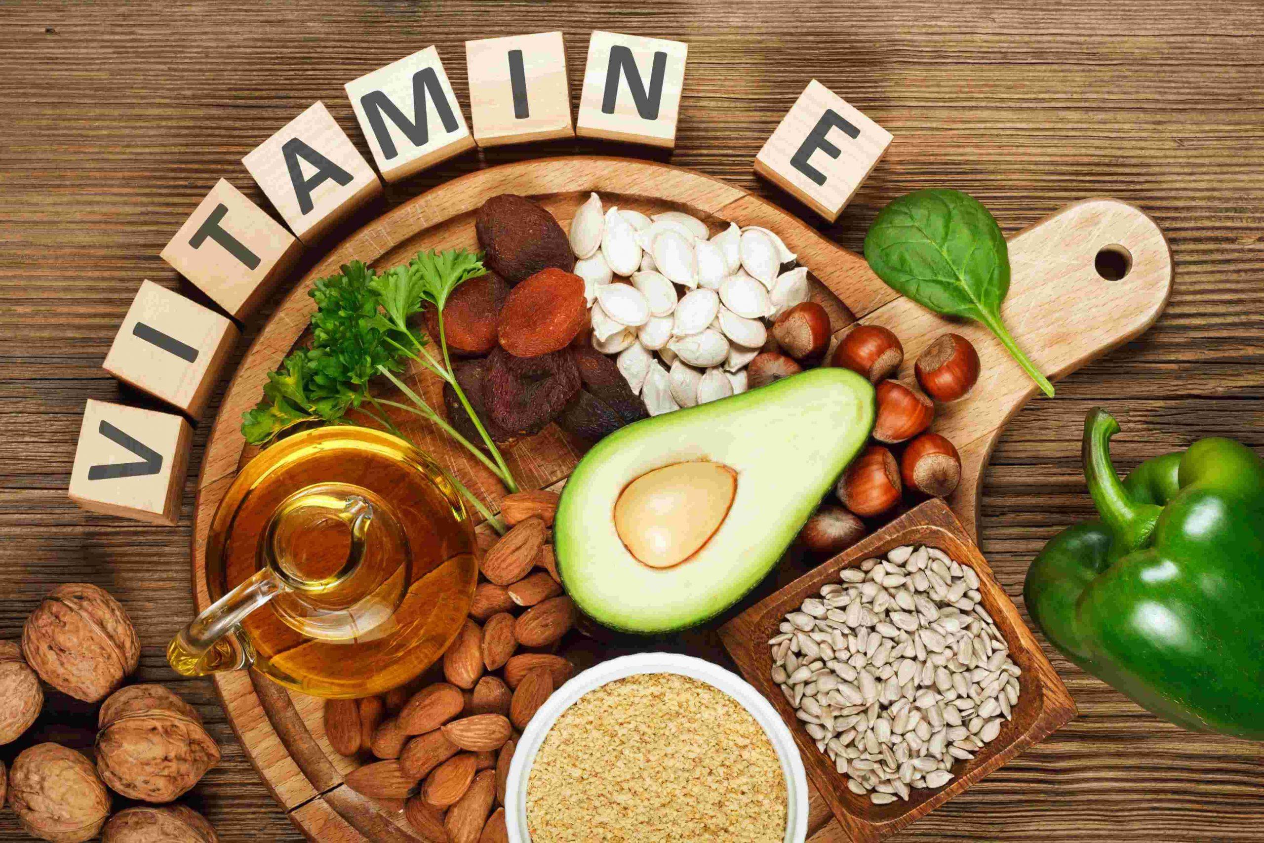 اهميه فيتامين هـ فى الجسم و اعراض نقصه VITAMIN E