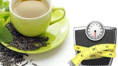 اهميه الشاى الاخضر فى انقاص الوزن و فوائده للجسم