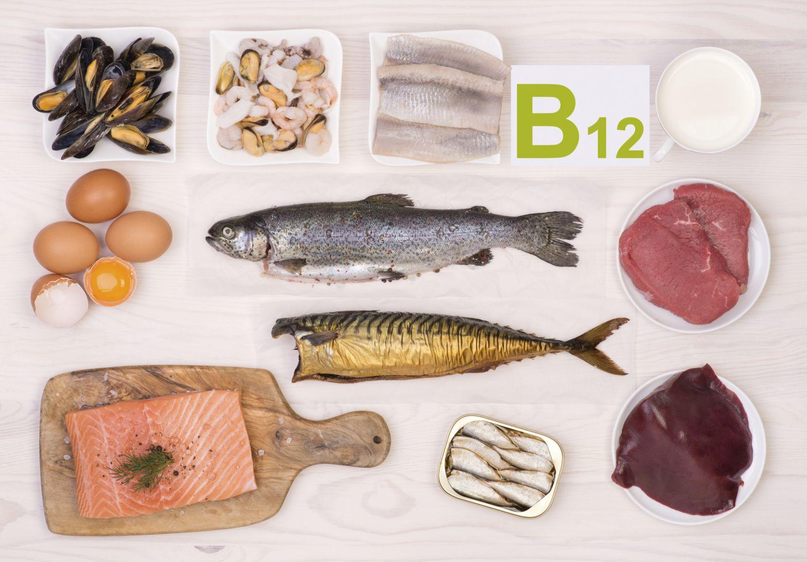 اضرار و علامات نقص فيتامين ب12 فى الجسم VITAMIN B12