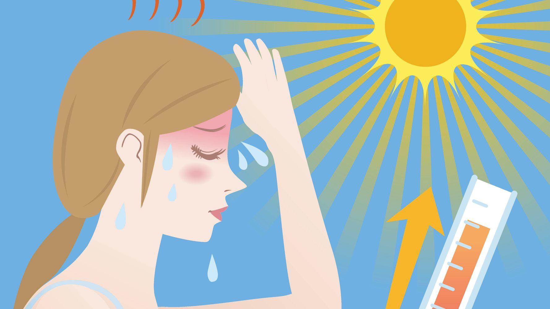 اعراض ضربة الشمس وخطورة التعرض الي ضربة الشمس وافضل الحلول لها