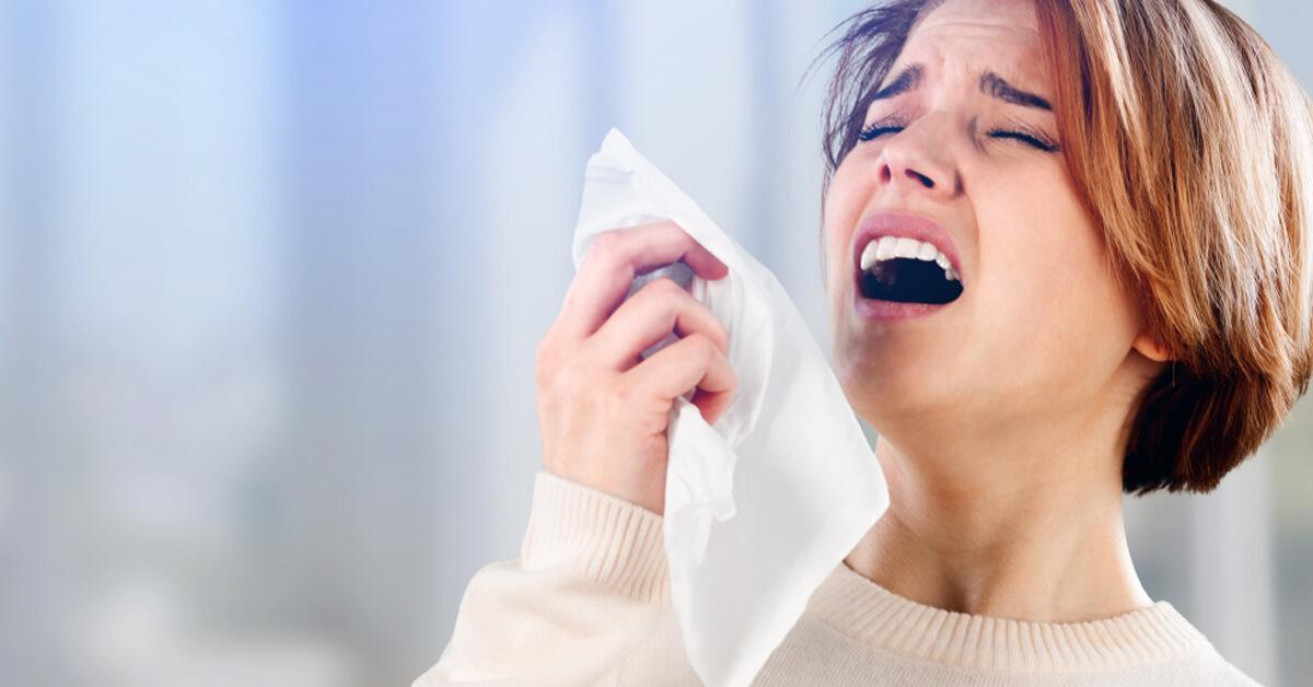 اعراض حساسيه الانف الموسميه وافضل طرق العلاج