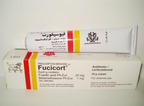 مواصفات كريم فيوسيكورت FUCICORT الحل السحري للالتهابات الجلدية مضاد حيوي موضعي