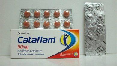 تسكين الالم مع دواء كتافلام Cataflam الفعال فى التخفيف من الم الصداع و الاسنان