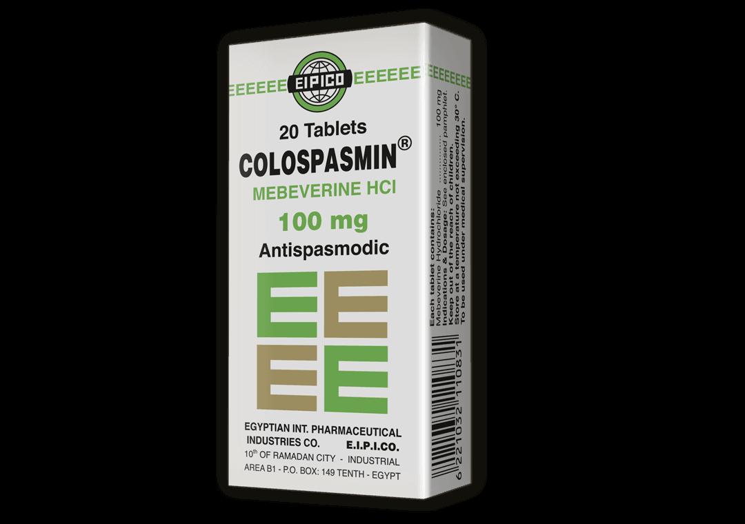 اقراص كولوسبازمين مضاد للتقلصات لعلاج تقلصات القولون العصبي بفاعلية Colospasmin