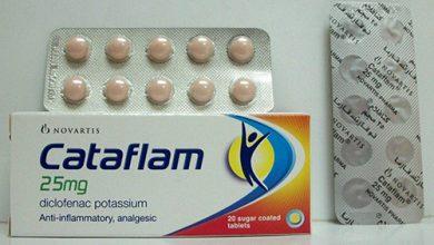اهم استخدامات دواء كتافلام Cataflam اشهر مسكن للالام لعلاج الالم الخفيف الي المعتدل