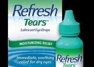 بديل الدموع الطبيعيه قطره ريفريش تيرز Refresh tears لترطيب العين من الجفاف