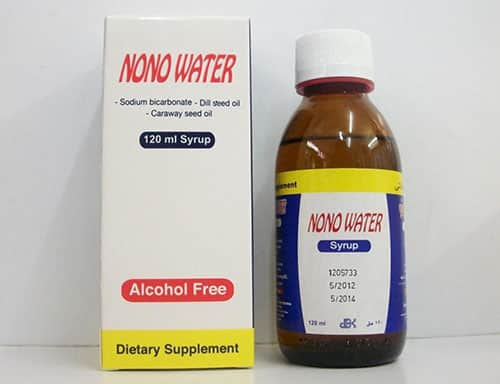 شراب ماء نونو لحديثي الولادة والرضع للمغص والانتفاخات وعسر الهضم Nono water