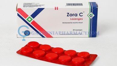 افضل استحلاب زورا سي ZORA C مطهر للحلق والفم لعلاج التهابات الحلق
