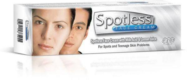 طريقة استخدام كريم سبوتلس Spotless لتفتيح البشرة والاماكن الداكنة والهالات السوداء