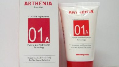 روشته كريم ارثينيا Arthenia للتخلص من تصبغات الجلد و تفتيح البشره و منحها نضاره