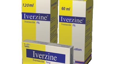 ايفرزين Iverzine الدواء الاشهر للقضاء علي الجرب والقمل في فروة الرأس كحل سريع نهائي
